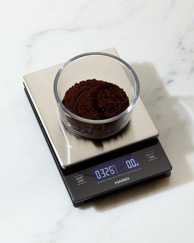 V60 Metal Drip Scale